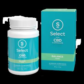 Select CBD Soft Gel Capsules-Balance