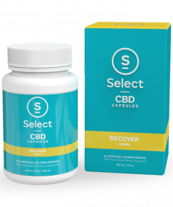 Select CBD Soft Gel Capsules-Recover