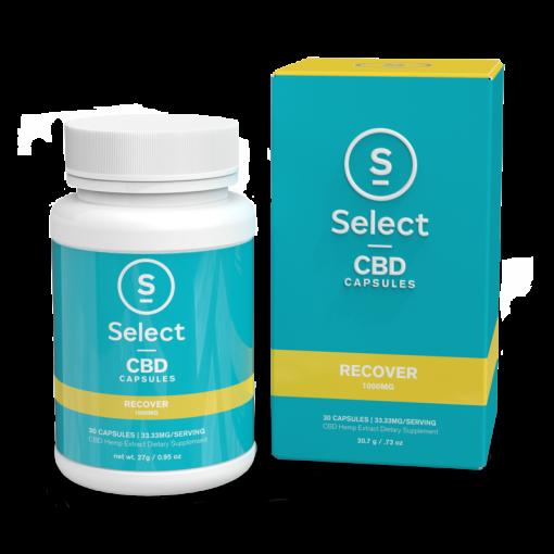 Select CBD Soft Gel Capsules-Recover
