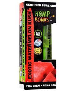 hemp bombs exotic watermelon kush