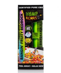 Hemp Bombs Disposable Banging Fruity Bedrock