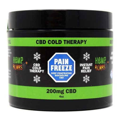 Hemp Bombs Pain Freeze 200mg CBD