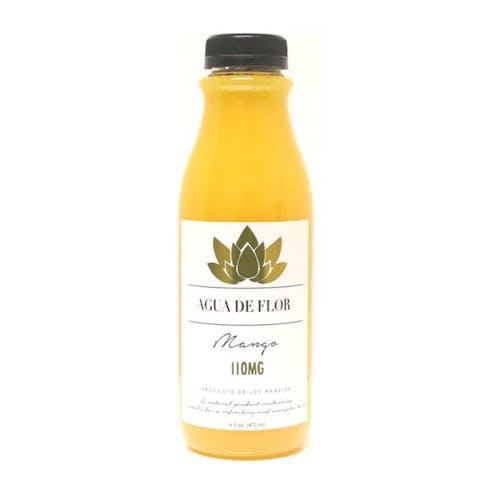 Agua De Flor Mango Flavored Water 110MG THC
