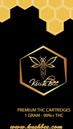 Kushbee THC Vape Cartridges Master Kush
