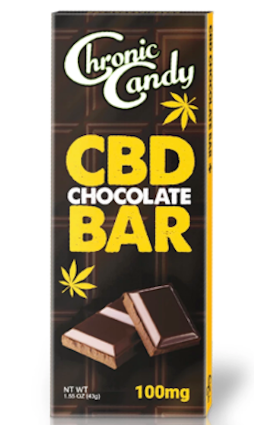 Chronic Candy CBD Chocolate Bar
