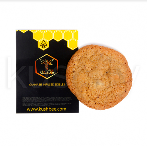 Kushbee Edibles Chocolate Chip Cookies 250mg THC