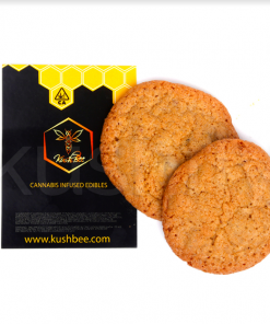 Kushbee Edibles Chocolate Chip Cookies 500mg THC