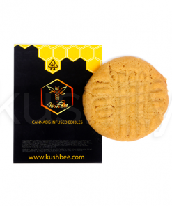 Kushbee Edibles Peanut Butter Cookies 250mg THC