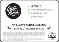 CaliKush Co. Specialty Hybrid 7 Pre-Rolled Joints