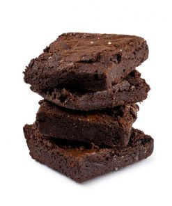 Kushbee Edibles Chocolate Brownies 500mg THC