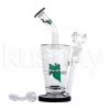 """Hitman Glass 14"""" Doulle Layer Waterpipe-(w/-Torch-&-Dab-Tool)"""