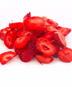 Kushbee Edibles Dried Strawberry Fruit