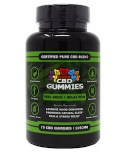 Hemp Bombs CBD Gummies 1050mg CBD