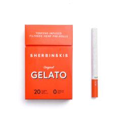Sherbinskis Gelato Hemp Pre-Rolls 20 Pack