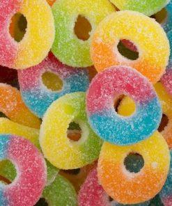 Kushbee Live Rosin Infused Rainbow Rings