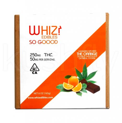Whiz Edibles The Orange Double Chocolate Oatmeal Cookie