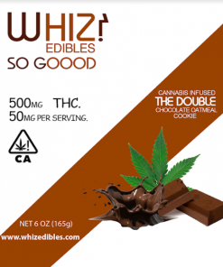 Whiz Edibles The Double Chocolate Oatmeal Cookie 500mg
