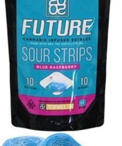 Order Online 2020 Sour Blue Raspberry Strips 300mg THC
