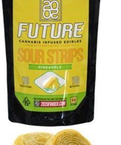 Order Online 2020 Sour Pineapple Strips 300mg THC
