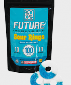 2020 Sour Blueberry Rings 300mg THC