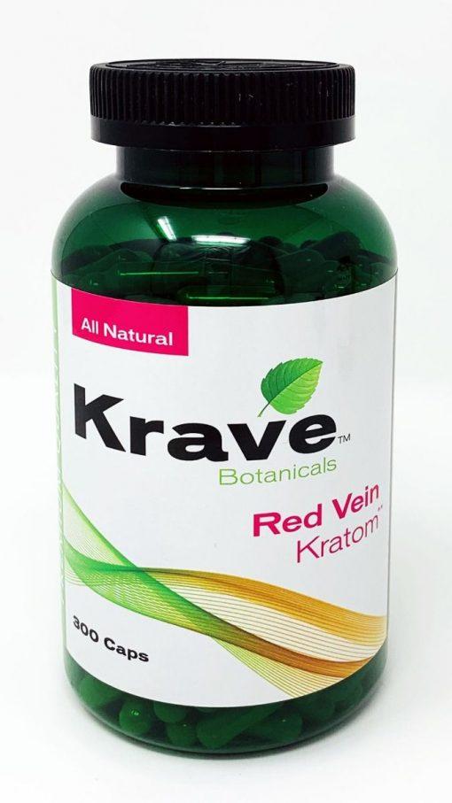 Order Online Krave Botanicals Red Vein Kratom