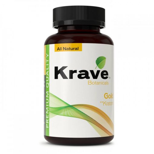Order Online Krave Botanicals Gold Kratom