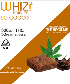 Order Online Whiz Edibles Chocolate Brownie 500mg