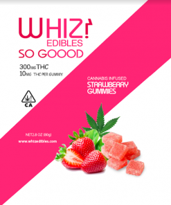 Order online Whiz Edibles Strawberry Gummies 300mg THC