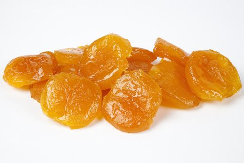 Order Online Kushbee Edibles Dried Glazed Apricot