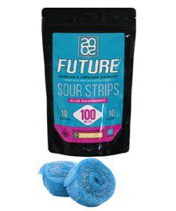 Order Online 2020 Sour Strips Blue Raspberry 100mg