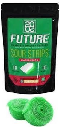 2020 Sour Strips Watermelon 100mg