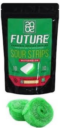 Order Online 2020 Sour Strips Watermelon 100mg