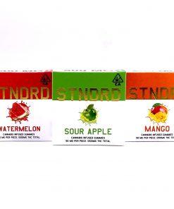 STNDRD Indica Gummies Pineapple 400mg