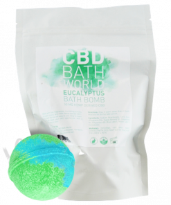 CBD Bath World Eucalyptus Bath Bomb