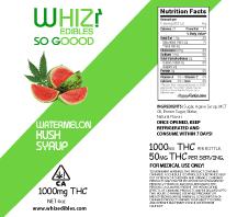 Canna Lean Watermelon Kush Syrup