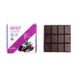 Whiz Edibles Dark Chocolate Ba