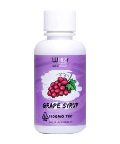 Whiz Edibles Grape Kush Syrup 1000mg THC