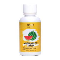Whiz Edibles Watermelon Kush Syrup 1000mg THC