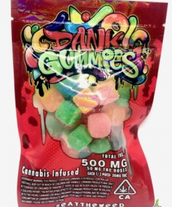 Dank Gummies Sour Gummy Worms
