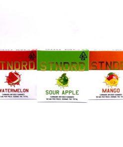 STNDRD indica gummies Mango
