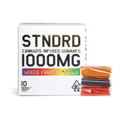 STNDRD Hybrid Gummies Mixed Fruit 1000mg