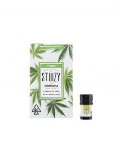 Stiiizy Premium THC Pod Strawnana