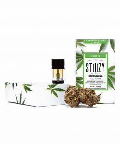 Stiiizy Premium THC Pod Strawnana .5g