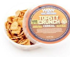 Loud Edibles Toasty Crunch Cereal 400mg