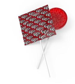 Chronic Candy CBD Lollipop Strawberry Happiness
