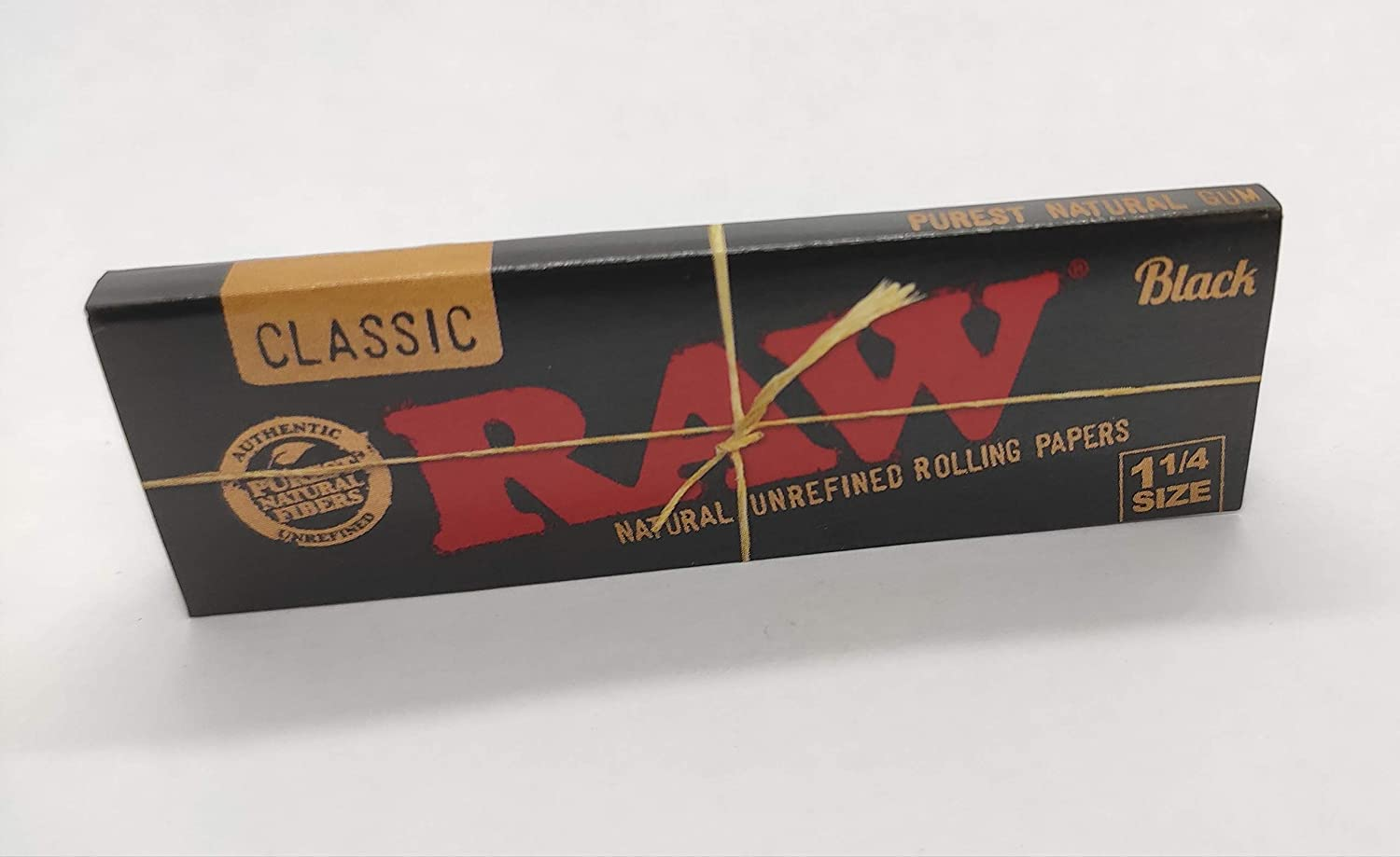 Raw Classic 1¼ Rolling Papers Black Edition 50 Leaves