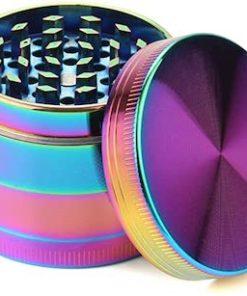 Rainbow Iridescent 4 Piece Grinder