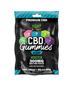 Hemp Bombs CBD Gummies Sleep 300mg