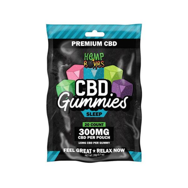 Hemp Bombs CBD Gummies Sleep 300mg