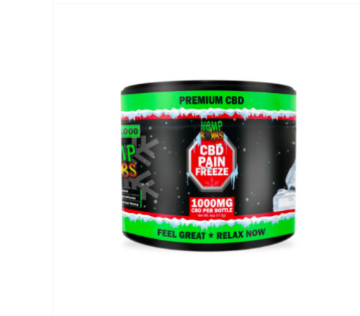 Hemp Bombs Pain Freeze 1000mg CBD